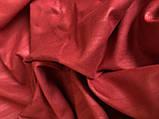 Комплект постельного  белья Страйп Сатин  Красный, фото 3