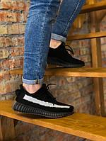 Кроссовки мужские Adidas Yeezy.Стильные кроссовки черного цвета.ТОП качество!!! Реплика