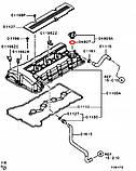 Прокладка крышки маслозаливной горловины MMC - 1250A012, фото 2