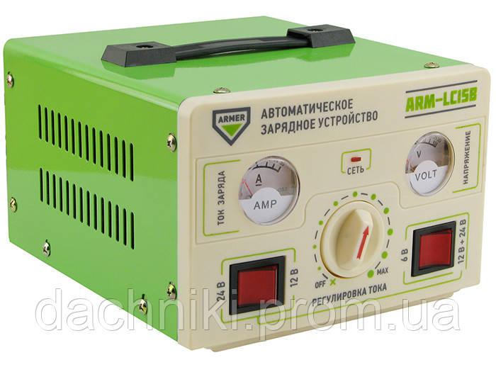 Зарядний пристрій ARMER  15A