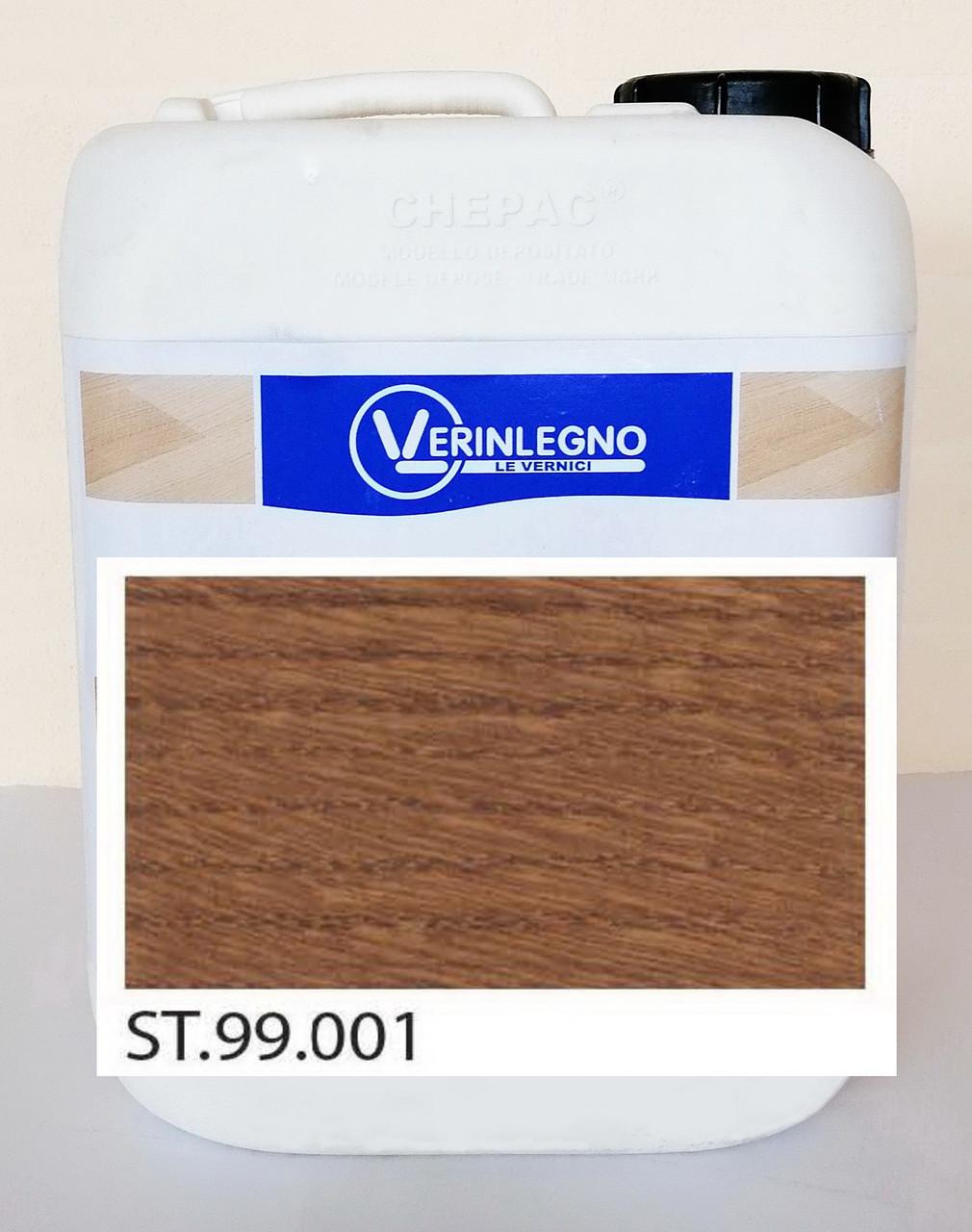 Краситель (морилка, пропитка, бейц)  для дерева VERINLEGNO ST.99.001, тара: 1л.