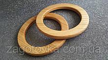 Ручки кольца из натурального дерева