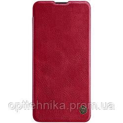 Кожаный чехол (книжка) Nillkin Qin Series для Samsung Galaxy A41