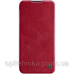 Кожаный чехол (книжка) Nillkin Qin Series для Huawei P40 Lite / Nova 7i / Nova6SE
