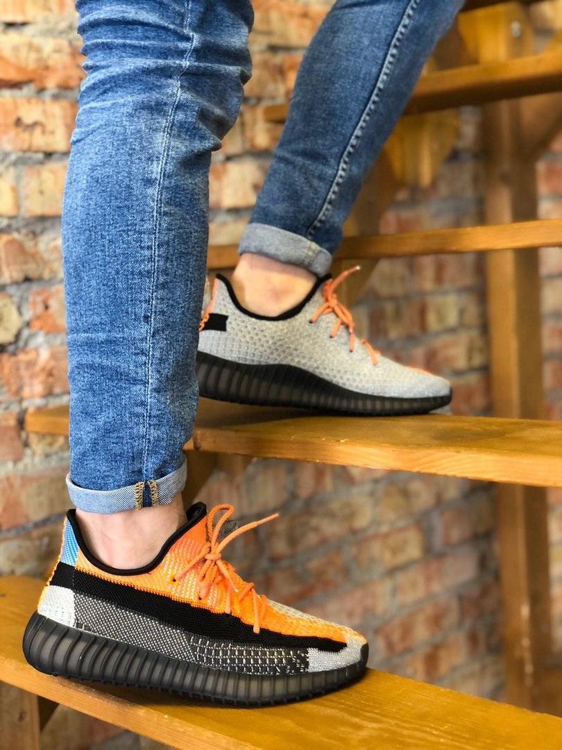 Кроссовки мужские Adidas Yeezy.Стильные мужские кроссовки.