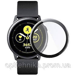 Полимерная пленка 3D (full glue) (тех.пак) для Samsung Galaxy Watch Active 2 40mm