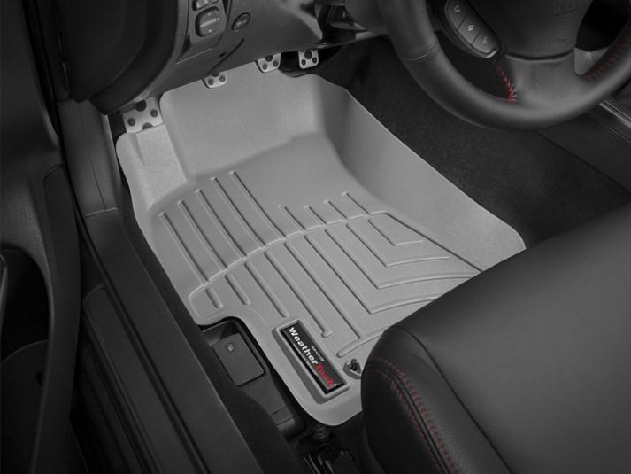 Ковры резиновые WeatherTech Subaru Impreza 2008-2014  передние серые
