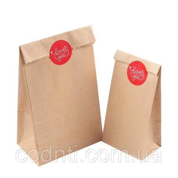 Бумажные   крафт пакеты   от  1шт