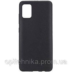 PU накладка Epik leather series для Samsung Galaxy A51