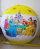 Пиньята - День рождения девочки  Рапунцель, 50 см, фото 3
