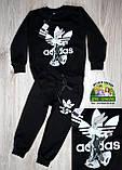 Детский спортивный костюм Adidas, светло-серый, фото 4