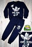 Детский спортивный костюм Adidas, светло-серый, фото 6