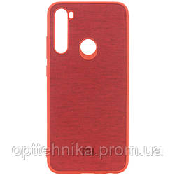 TPU чехол Textile Logo для Xiaomi Redmi Note 8