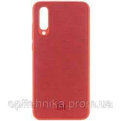 TPU чехол Textile Logo для Xiaomi Mi 9