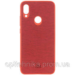 TPU чехол Textile Logo для Xiaomi Redmi 7
