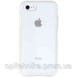 """Прозрачный силиконовый чехол с матовой окантовкой для Apple iPhone 7 / 8 (4.7"""")"""