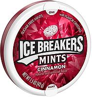"USA Ice Breakers Sugar Free Mints,Cinnamon - ""Корица"" Леденцы без сахара из США 42 грамма, Айс Брекерс"
