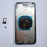 Корпус Novacel для Apple iPhone 8 Plus Space Gray, фото 2