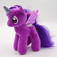 Мягкая игрушка My Little Pony Сумеречная искорка Twilight Sparkle (Мой маленький пони) 19 см 00032