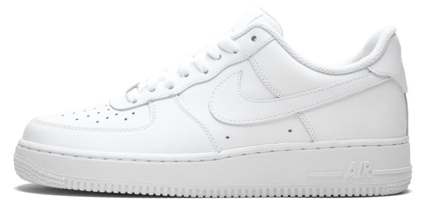 Кроссовки Nike Air Force One Low White Белые женские