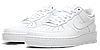 Кроссовки Nike Air Force One Low White Белые женские, фото 4