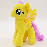 Мягкая игрушка My Little Pony Флаттершай (Мой маленький пони) 19 см 00034