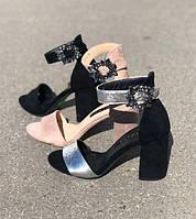 Босоножки на толстом каблуке (33-41 размеры) KF0577