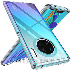 TPU чехол Epic Premium Transparent для Huawei Mate 30 Pro