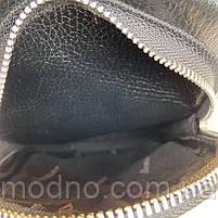 Мужская кожаная сумка слинг через плечо Desisan, фото 7