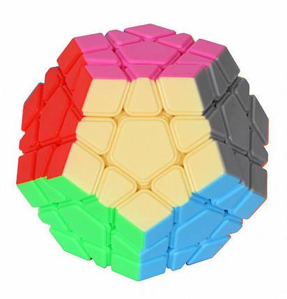 YJ YuHu Megaminx Stickerless | Мегаминкс Колор YJ8310, фото 2