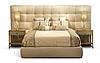 Кровать -ДИС- Кровать с мягким изголовьем.
