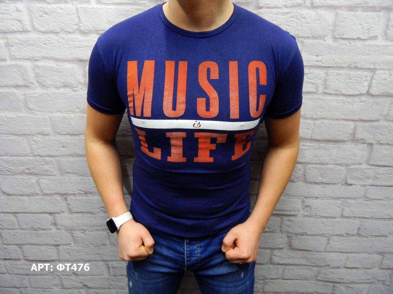 Мужская футболка Размеры: M/L (маломерят на размер)