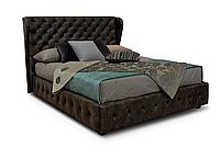 Кровать -СЭТ- Кровать с мягким изголовьем, фото 1