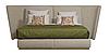 Кровать -СИС- Кровать с мягким изголовьем.