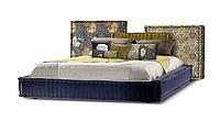 Кровать -ДУО- Кровать с мягким изголовьем., фото 1