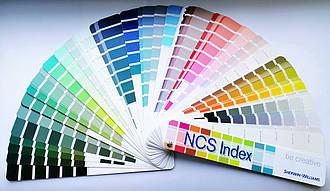 Каталог цветов NCS Index - цветовая гамма, палитра, стандарт для производителей лакокрасочной продукции