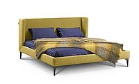 Кровать -УНО- Кровать с мягким изголовьем., фото 1