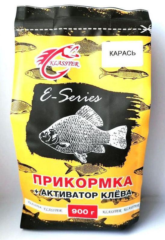 Рыболовная прикормка KLASSTER E-SERIES Карась, 0,9 кг