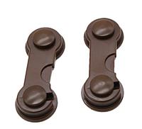 Крючок - блокиратор для створчатых дверей Коричневый