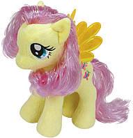 Мягкая игрушка My Little Pony Флаттершай (Мой маленький пони) 16 см 00028
