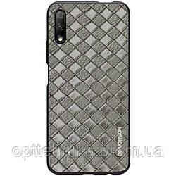 Кожаная накладка VORSON Braided leather series для Huawei P Smart Pro / Honor 9X (China)