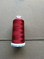 Нитки для машинной вышивки   Madeira Classic №40.  цвет 1238 ( БОРДОВЫЙ ).  1000 м
