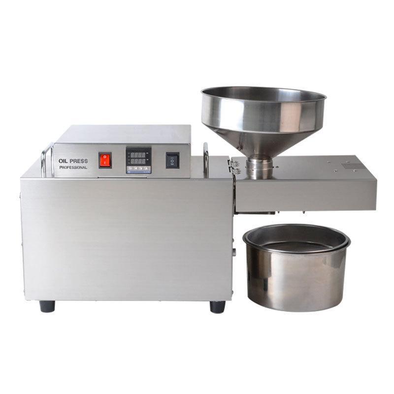 Маслопрес шнековий Oil Extractor OP-S10 прес для холодного віджиму олії