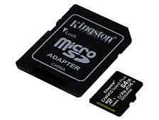 Карта памяти Kingston 64GB micSDXC class 10 A1 Canvas Select Plus (SDCS2/64GB)