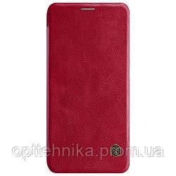 Кожаный чехол (книжка) Nillkin Qin Series для Huawei P Smart Z