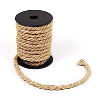 Пеньковая веревка 10 мм х 10 м