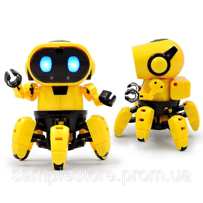 Интерактивный Робот-Конструктор, Tobbie Robot HG-715 (желтый)