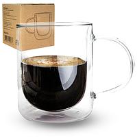 """Стеклянная чашка """"Jacobs"""" с двойной стенкой (300 мл.), фото 1"""