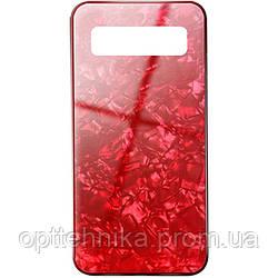TPU+Glass чехол Shell для Samsung Galaxy S10+