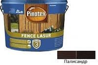Пропитка для дерева Pinotex Fence Lasur палисандр 10л